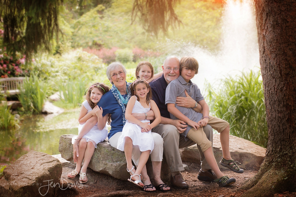 Ideas For The Outdoor Family Portrait