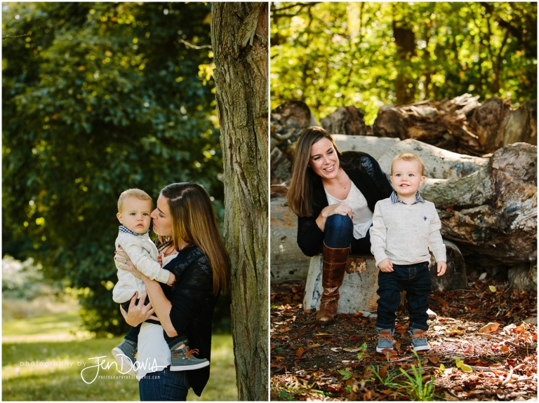 Little boy smiling for pictures in fall little boy smiling for pictures in fall family